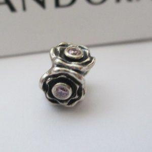 Pandora pink stone bead READ